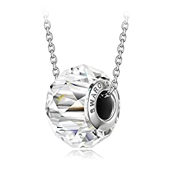 Women's Sparkling Necklace with Crystal from Swarovski