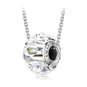 Alex Perry Christmas Necklaces Gifts for Women Love Bead Sparkling Ball Pendant Chain Necklace, with Crystal from Swarovski Best Choice for Women Ladies Charm Birthday Jewelry Gift