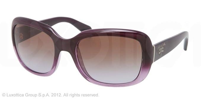 Gafas de Sol Prada PR 17PS VIOLET GRADIENT - BROWN GRADIENT ...