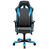 DXRacer OH/SJ08/NB Black & Blue Sentinel Series Gaming Chair