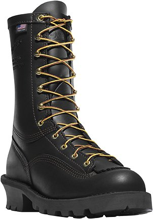 Danner Men's Flashpoint II Black Leather Work Boots 18102 - 13 D(M) US