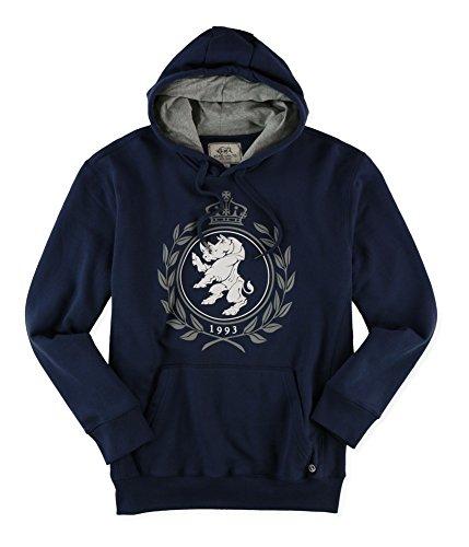 Ecko Unltd. Mens Crown Lion Popover Hoodie Sweatshirt Indignvy L