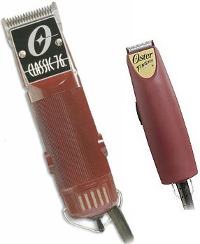 Oster Classic 76 Clipper W 2-blades Plus Finisher Narrow Bladetrimmer Combo