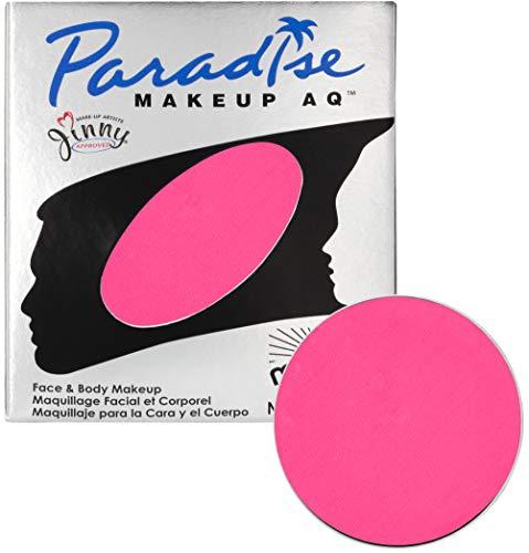 Mehron Makeup Paradise Makeup AQ Refill (.25 oz) (Light Pink) -