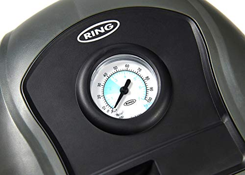 Ring Automotive RTC100 Air Compressor, Analogue