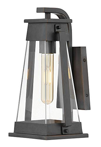 Hinkley 1130AC Arcadia Outdoor Wall Sconce, 1-Light, 100 Watts, Aged Copper Bronze
