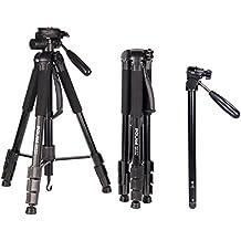 "POLAM-FOTO 70""/176.5cm 2-in-1 Tripod Monopod-Camera Tripod Aluminum Travel Tripod with Bag for Canon/Nikon/Sony DSLR/SLR Camera"
