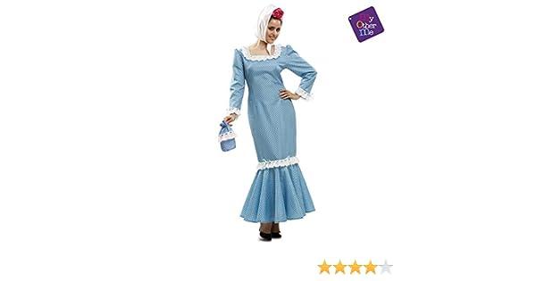My Other Me - Disfraz de madrileña para mujer, talla M-L, color ...