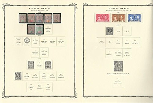 - Leeward Islands Collection 1890-1954 on 7 Scott Specialty Pages