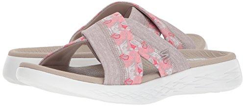 Skechers Sandals Women''s 15306 Platform taupe Beige w8xq7gwSrn
