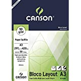 Bloco Canson Layout – 90g/m² A3 297 x 420 mm com 50 Folhas – 66667034