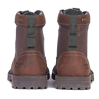 Barbour Mens Cheviot Derby Boot Leather Waterproof Walking Comfort Boot 2