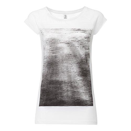 ThokkThokk Forest & Wolfes Cap Sleeve black/white aus 100% Biobaumwolle hergestellt // GOTS und Fairtrade zertifiziert