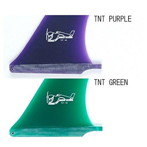 TRUE AMES FIN RAW(トゥルーアメスフィンロー) GREENOUGH 4A グリーンノー 8.5インチ TNT GREEN   B079PG77V9