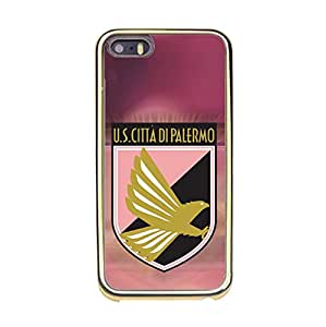 Hot Classical Unione?Sportiva?Citta?di?Palermo Phone Case Football Club?Palermo Logo Customised Protective Phone Case for Iphone 5/5s
