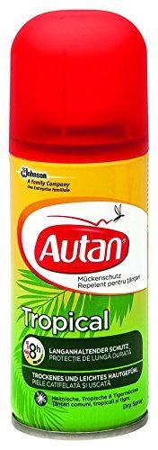 Autan Tropical Dry Spray, 1er Pack (1 x 100 ml)