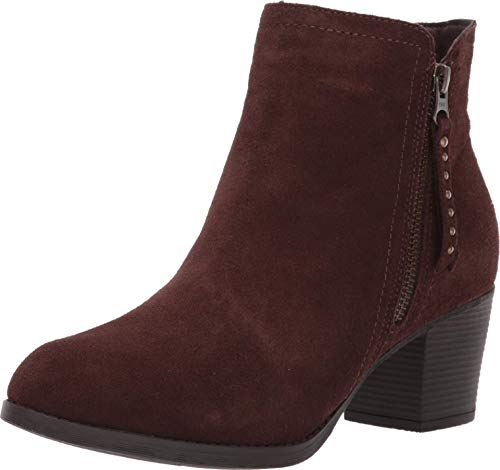 Skechers Women's Taxi-Short Gore and Zipper Bootie Ankle Boot