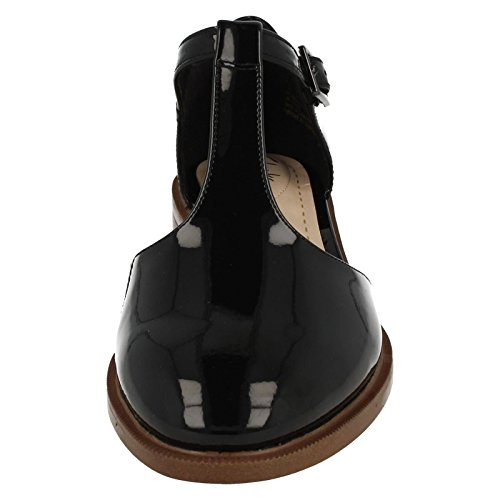 a45c6058d0f8 durable service Clarks Taylor Palm - Black Patent (Leather) Womens Shoes