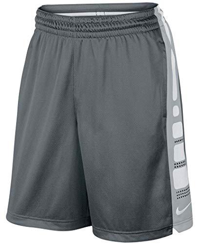 (Nike Men's Elite Stripe Short (XX-Large, Cool Gray/Black))