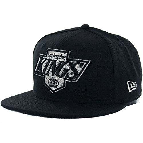 New Era 59Fifty Los Angeles LA Kings Fitted Hat (Black) Men's NHL Vintage (Vintage Nhl Hats)