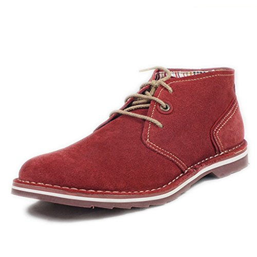 Uk Greiff Men S Oil Suede Leather Lace Up Oxfords Shoes