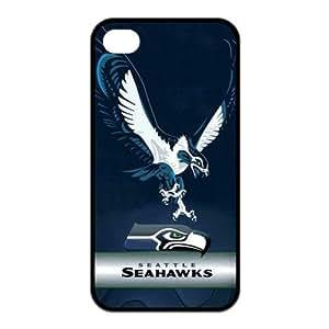 Treasure Design Seattle Seahawks logo APPLE IPHONE 4/4S Best Silicone Cover Case