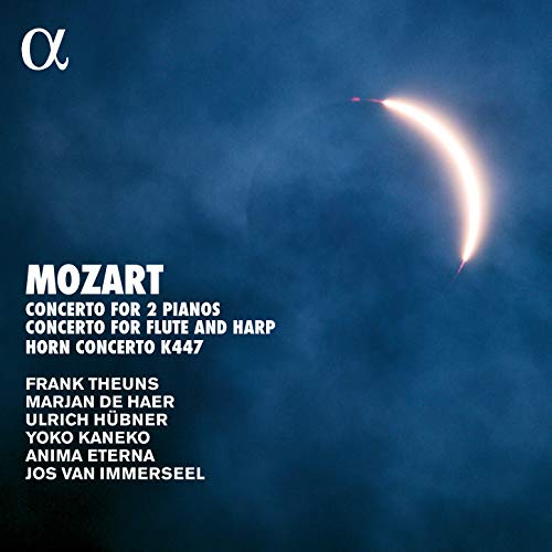 Mozart: Concerto for Two Pianos, K. 365, Concerto for Flute and Harp, K. 299 & Horn Concerto, K. 447 (Alpha Collection) (Anime Flute Music)