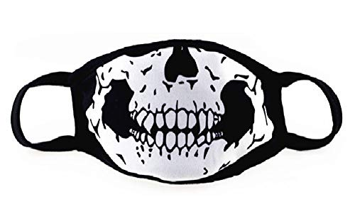 The skeleton Jaw Sanitary Mouth Mask, The Fashionasta Collection,H5 for $<!--$10.41-->