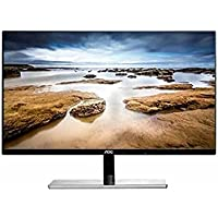 27 AOC I2779VH LED LCD IPS Slim Bezel Monitor HDMI, VGA 1080p Widescreen w/Speakers - Black (Certified Refurbished)