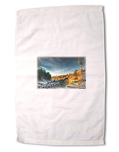 TooLoud Castlewood Canyon Old Photo Premium Cotton Sport Towel 16