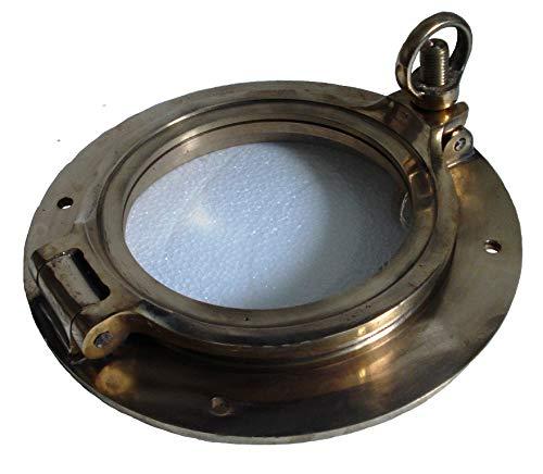 Marine Port Hole/Window - Porthole - Nautical/Boat/Navy/Yacht : (Brass - 6