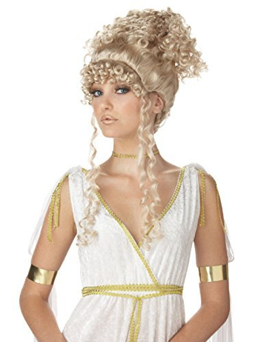 Athenians Costume (California Costumes Athenian Goddess Wig (Blonde) Adult Accessory by California Costume)