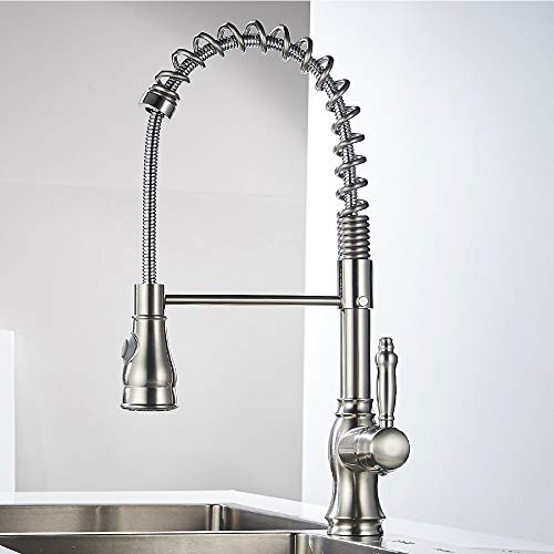 Faucet Multifunctional Hot and Cold Sink Kitchen, Spring Sink, Oil Rub Bronze, Chrome