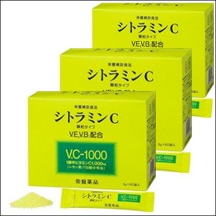 【3個セット】トキワ シトラミンC 60包 [並行輸入品] B017N5J9WO   3個セット