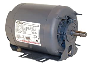 A.O. Smith RB2036 1/3 hp, 1140 RPM, 115/230 volts, 56 Frame, ODP, Ball Bearing Belt Drive Blower Motor
