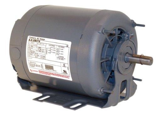- A.O. Smith RB2036 1/3 hp, 1140 RPM, 115/230 volts, 56 Frame, ODP, Ball Bearing Belt Drive Blower Motor