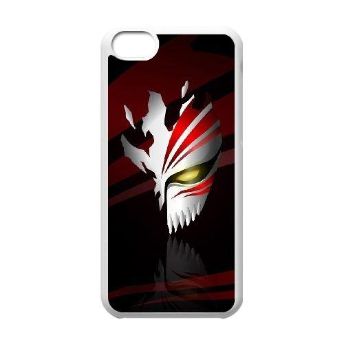 Bleach Hollow Mask L1C98P4QG coque iPhone 5c case coque white CLA4JL