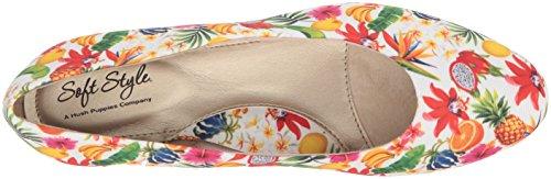 Clasica Soft Caribbean Mujeres White Zapatilla Cerrada Style Grosgrain Talla Angel Punta Escarpín wrAxpnYrRq