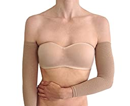 Bioflect® FIR Therapy Micromassage Anti Cellulite Compression Slimming Arm Sleeves (Black)