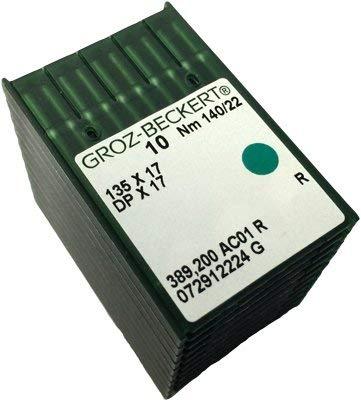 Groz-Beckert 135 X 17 #22 Pack of 100 Sewing Machine Needles
