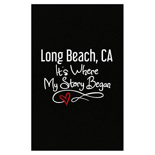 Long Beach Ca Where My Story Began Hometown Home City Birth - Poster