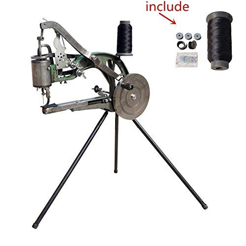 YEQIN Hand Machine Cobbler Shoe Repair Machine, Manual Shoe Mending Machine, Shoe Sewing Machine, Dual Cotton Nylon Line Sewing Machine (Sewing Machine Cranked Hand)