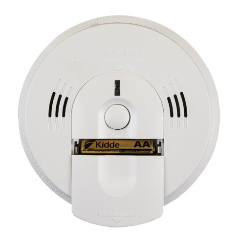 Kidde KN-COSM-B Battery-Operated Combination Carbon Monoxide and Smoke Alarm with Talking Alarm *4-Pack* (Kidde Battery Operated Carbon)