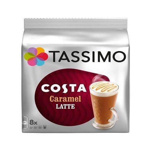 Tassimo Costa Caramel Latte 16 discs, 8 servings (Discs Coffee Costa)