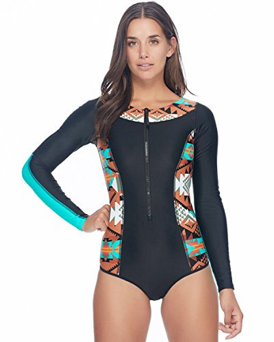 Body Glove Women's Terra Sand Bar Long Sleeve Swimsuit by Body Glove