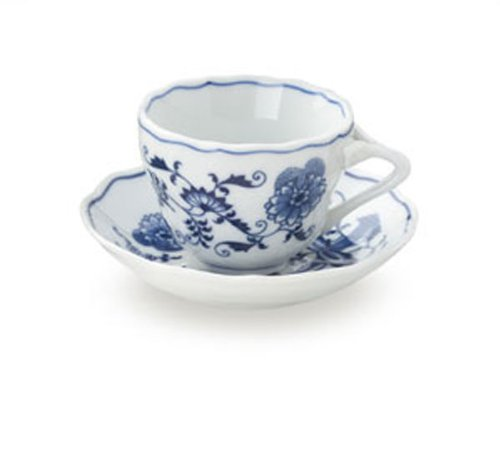 Japan Blue Danube Demi Cups & Saucers (Blue Danube Blue Onion)
