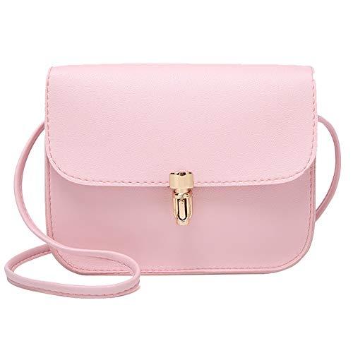 iFOMO Women's Bullet-Covered Single Shoulder Small Square Bag Mobile Phone Bag(Pink,Hand - Honda Lawn Self Mower
