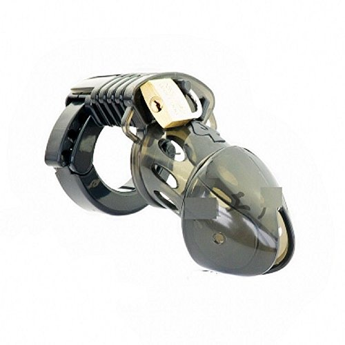 Black Jack Smoke Polycarbonate Male Chastity Devices