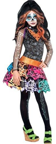 Monster High Skelita Calaveras Costume Wig Dress