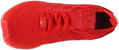 Adidas Mænds Zx Flux Primeknit Rød / Ankel-høje Cross Trainer Sko - 8,5 M